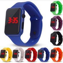 Brand Silicone Sports LED Digital Quartz Watch Men Women Army Military Fashion Wristwatches Clock Relogio Masculino Feminino