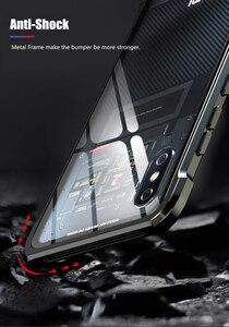 Image 4 - OMEVE For Xiaomi Mi 8 Case Mi8 Pro Case Tempered Glass Back Cover Alloy Metal Frame Bumper for Xiaomi Mi 9 8 9T Pro Mi9 Cases
