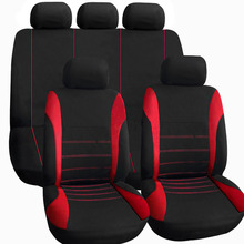 CAR-PASS 9PCS 2016 New 9PC Universal Styling Auto Car Pass Seat Cover Interior Accessories Covers