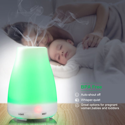 Spray Ultrasonic Air Aroma Humidifier With LED Lights Electric Aromatherapy Essential Oil Aroma Diffuser ultrasonic humidifier aroma air diffuser with led lights electric essential oils for aromatherapy diffusers fogger