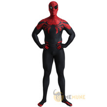 Marvel Comic Superhero Role Playing Superior Spiderman Far From Home Zentai Suit Halloween Cosplay Carnival Costume(China)
