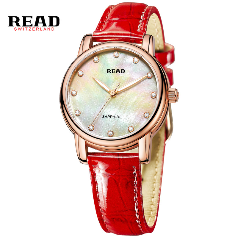 Read Top Luxury Brand High Quality Fashion Casual Simple Style Leather Strap Quartz Wristwatch Waterproof Women Watch PR62 high quality fashion dial genuine leather strap top sale quartz watch women and men dress wristwatch personality