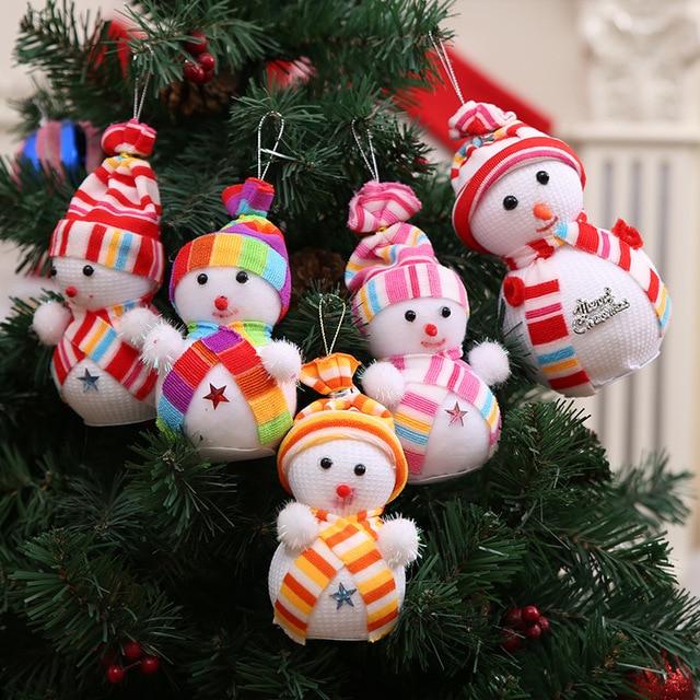Muñecos de navidad!!! 3 Unids/lote 15 CM Muñeco de Nieve Figura DIY ...