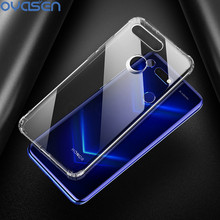 Phone Cases For Huawei Honor View 20 6.4 Ultra-thin Soft Transparent Airbag Design Protective Shell View20