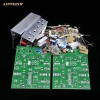 2PCS NCC200 Power amplifier DIY kit Base on UK NAIM NAP250/135 amplifier 80W+80W