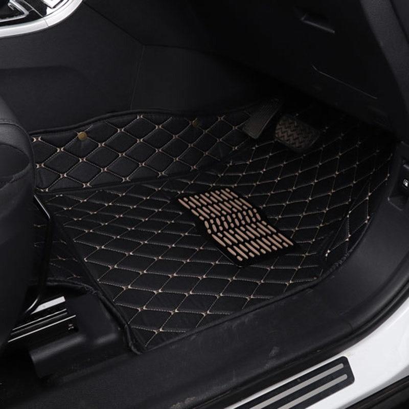 Автомобильный коврик коврики кожаные аксессуары