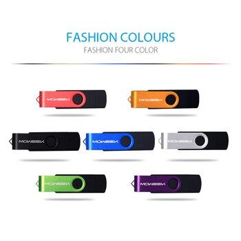 Moweek USB Flash Drive 2017 new cle usb stick 128G otg pen drive usb 2.0 Smartphone Pendrive 4/8/16/32/64G storage devices gift 1