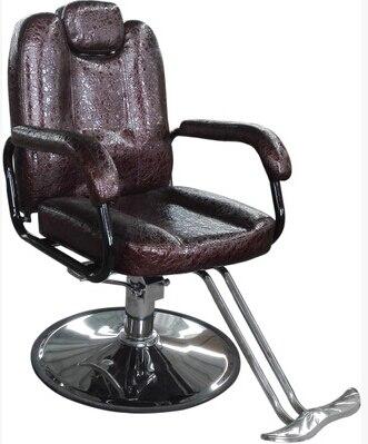 Willensstark Heißer Friseursalon Friseurstuhl Legte Liegen Rasiermesser Stuhl Kann Heben Drehung. Friseur Stuhl