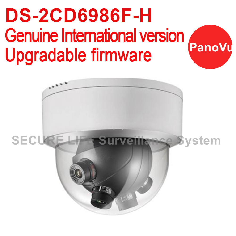 In stock DS-2CD6986F-H English version 7.3MP PanoVu Panoramic Ultra-low light CCTV dome Camera with 4*5mm lens 180 degree view cd диск fleetwood mac rumours 2 cd