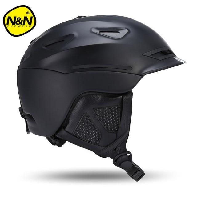 2017 NANDN Men Skiing Helmet Autumn Winter Adult Sports Safety Women Horse Riding Monoboard Skiing Snowboard Helmets NT628