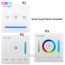 Milight P1/P2/P3 led Smart Panel Controller Dimmer Panel,RGB RGBW RGB+CCT Led for Strip Light