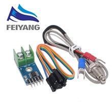 10pcs MAX6675 Module + K Type Thermocouple Thermocouple Senso Temperature Degrees Module