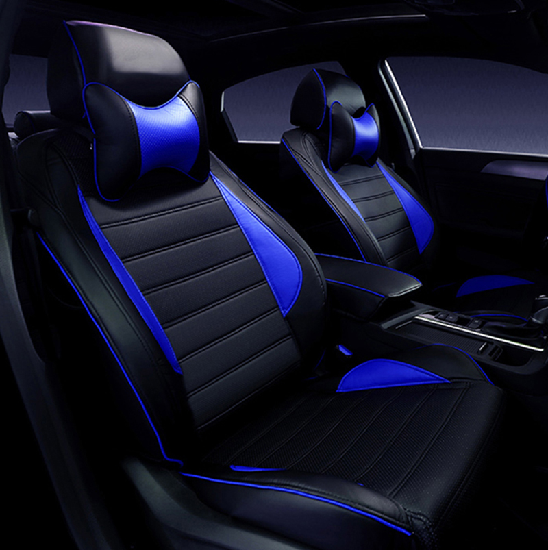 Special Leather car seat covers For Toyota RAV4 PRADO Highlander COROLLA Camry Prius Reiz CROWN yaris car accessories styling