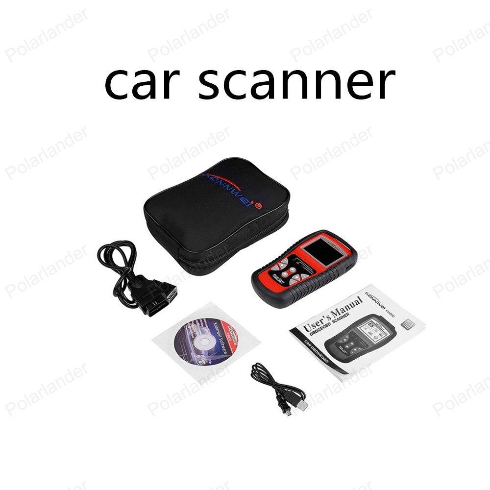 best selling KW830 Car Fault Code Reader Scanner Automotive Diagnostic Scan Tool Can Test Battery AL519 OBD2 EOBD free shippinng diy om580 obd scanner automotive obd2 eobd car code reader for engine abs dsc srs fault diagnostic tool