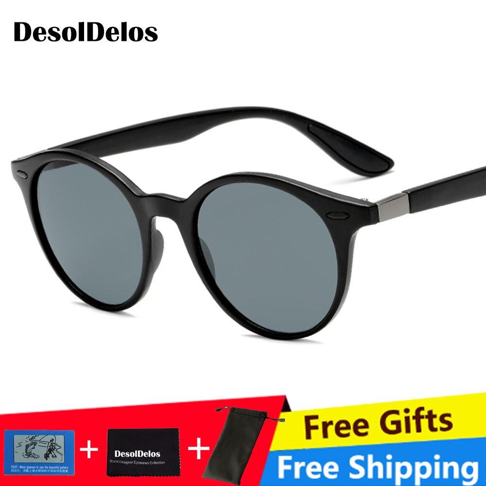 Round Women 39 s Sunglasses Polarized Sunglasses Men Safe Driving Spots Sun Glasses Unisex Goggle Anti UV Eyewear Gafas de sol 302 in Women 39 s Sunglasses from Apparel Accessories