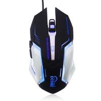 נייד משחקי משחקי USB Gaming Mouse ארגונומיה אופטי Wired מחשב גיימר עכברים לניידים גיימר Mause נייד Desktop PC (3)