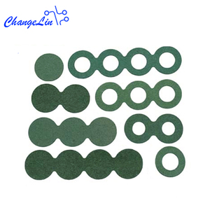 Image 3 - 1 sheet Barley Paper 18650 Lithium Li ion Battery Insulation Gasket Hollow Solid Adhesive Packs Insulating Glue Pads 1S 2S 3S 4S