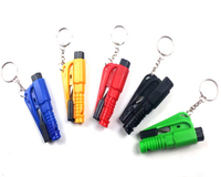 5Pcs Car Auto Mini Safety Glass Window Breaking Hammer Emergency Escape Rescue Tool With Keychain Seat