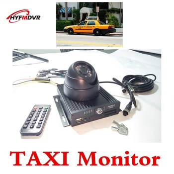 AHD 4CH SD Card Mobile DVR to support the Polish taxi special equipment ntsc/pal system
