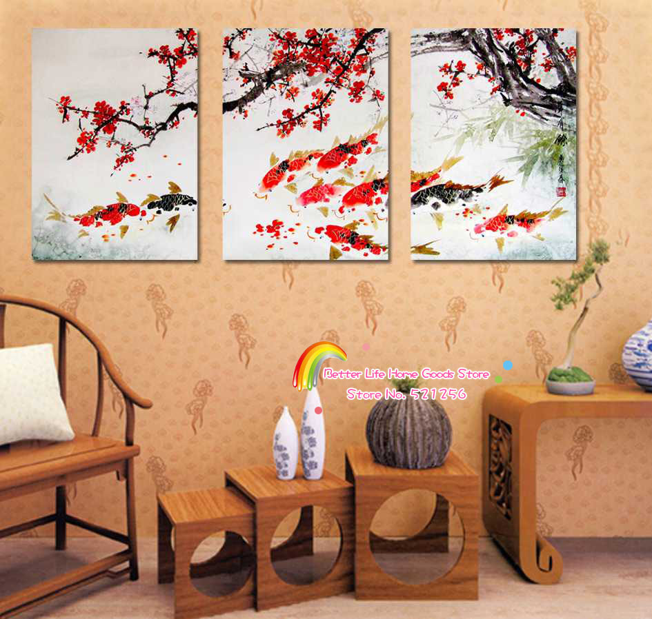 Modern Wall Art Home Decoration Printed Oil Painting Pictures 3 ...