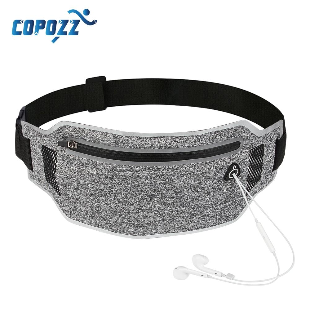 Running Belt Waist Pouch Sport Belt Mobile Phone Men Women With Hidden Pouch Jogging Running Bags Gym Waist Pack Accessories