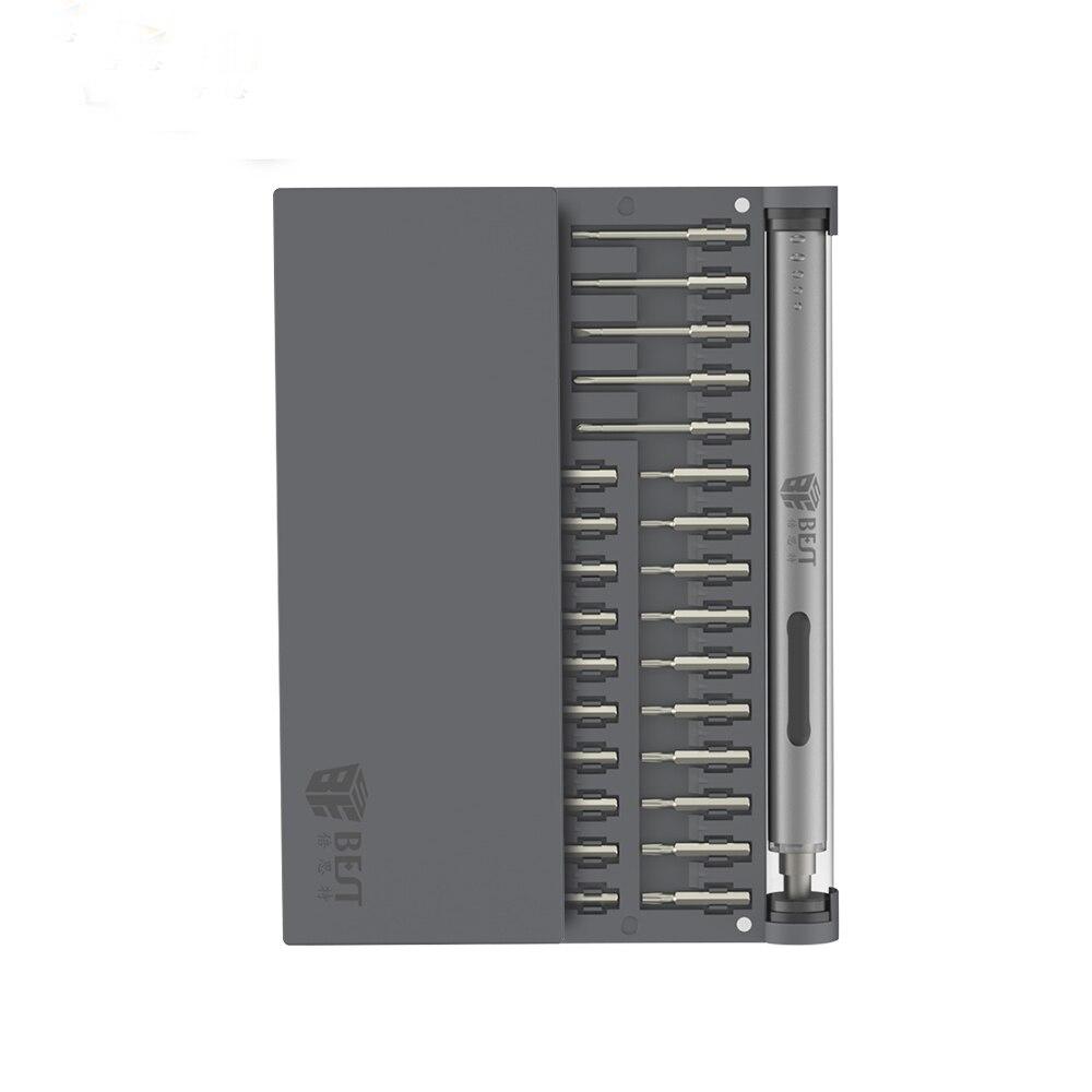 Jeu de tournevis électrique 57 en 1 Kit de tournevis électrique sans fil Rechargeable avec magnétiseur à aimant