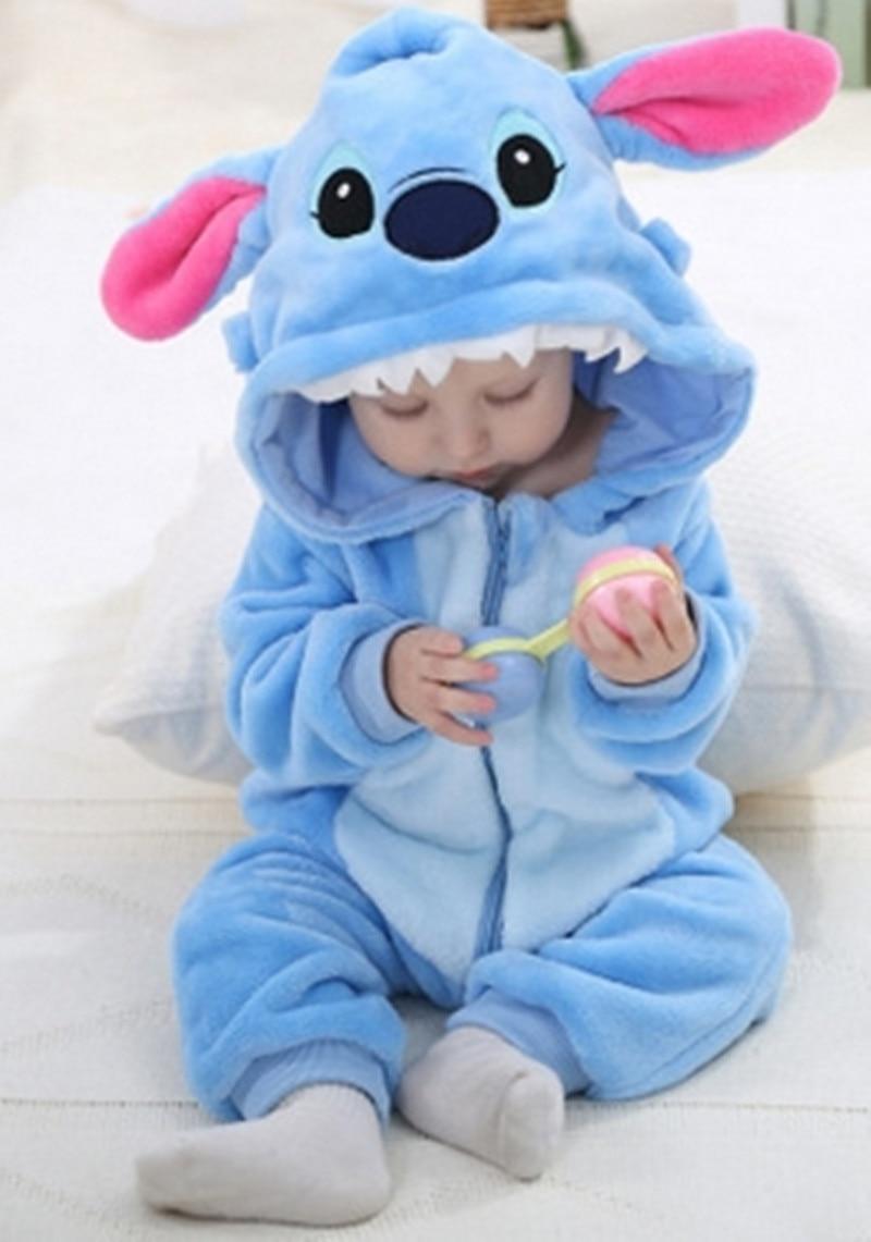 Для новорожденных комбинезон Демисезонный Одежда для маленьких мальчиков комбинезон для девочек животного Комбинезоны для малышек Зима Д...