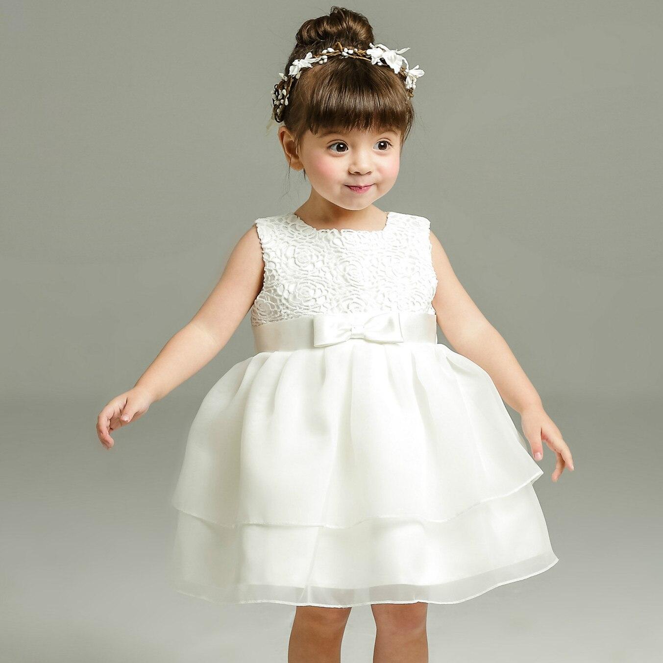 1 წლის ბავშვის გოგონა კაბა - ტანსაცმელი ჩვილებისთვის - ფოტო 3