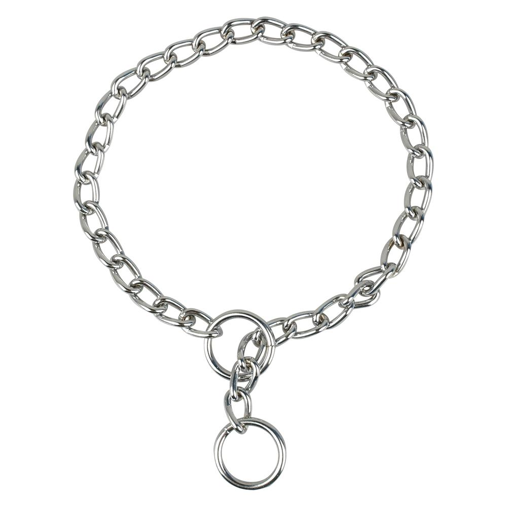 New Brand Chrome Stainless Steel P Chock Metal Chain Pet