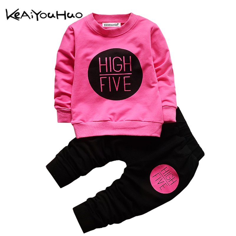Children's clothing for Baby Girls Sets 2020 Spring Autumn Baby Boys Clothes T-shirt + pants costume Infant suit Toddler clothes,