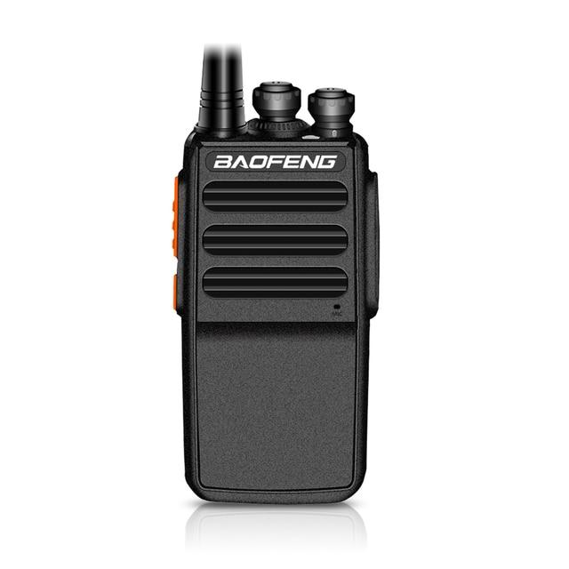 2019 New Baofeng BF C5 Plus. Walkie Talkie 5W UHF 400 470MHz Two Way Radio Portatile 16CH FM ricetrasmettitore Radio CB Interphone