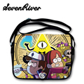 Gravity Falls Satchel Book Bag Cartoon Characters Students Canvas Messenger Bag Child School Bag