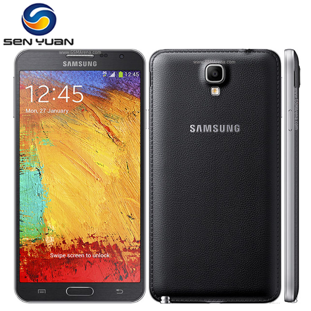 """Цена за Оригинальный Разблокирована Samsung Galaxy Note 3 Neo N750 Мобильный Телефон Quad Core 5.5 """"8MP 3 Г WIFI GPS примечание 3 neo сотовый телефон Бесплатная Доставка"""