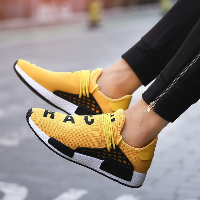 separation shoes d683f 0af2c US $21.5 |2018 Shoes human race Shoe Women Fashion Pink Platform Sneaker  Lady Autumn footwear Black Breathable chaussure Ultra Boosts-in Women's  Flats ...