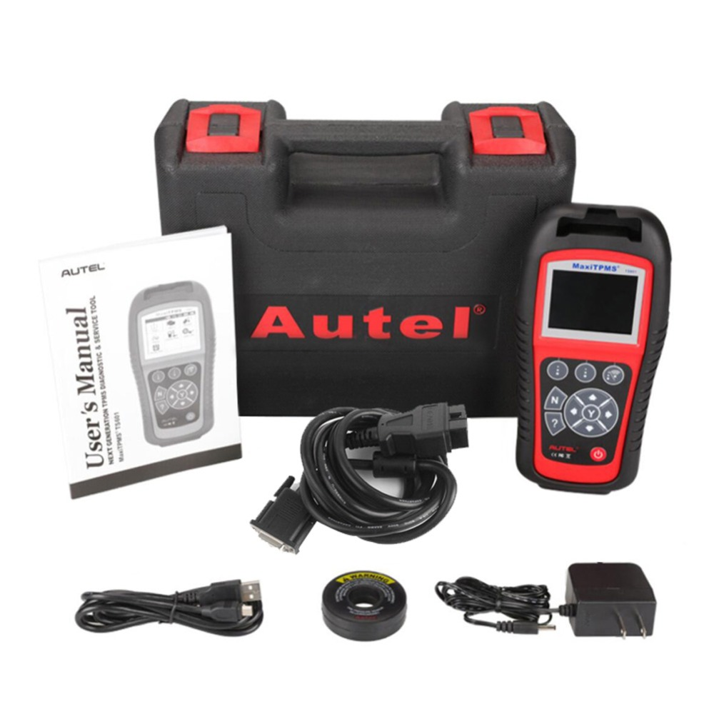 Image 5 - Autel MaxiTPMS TS601 OBDII Diagnostic Tool OBD2 Scanner TPMS Programmer Auto Code Reaser TPMS Monitor Tool 433MHz 315MHz Sensor-in Pressure & Vacuum Testers from Automobiles & Motorcycles