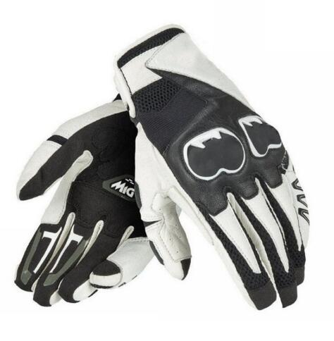 Новый Дейн миг C2 перчатки уличные мотоциклетные гоночный трек Street Sport для верховой езды черный, белый цвет короткие перчатки
