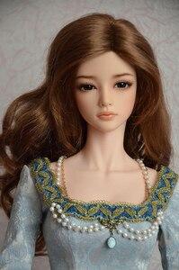 Image 1 - HeHeBJD 1/3 יפה ילדה Aria משלוח עיני שרף דגם צעצועים באיכות גבוהה