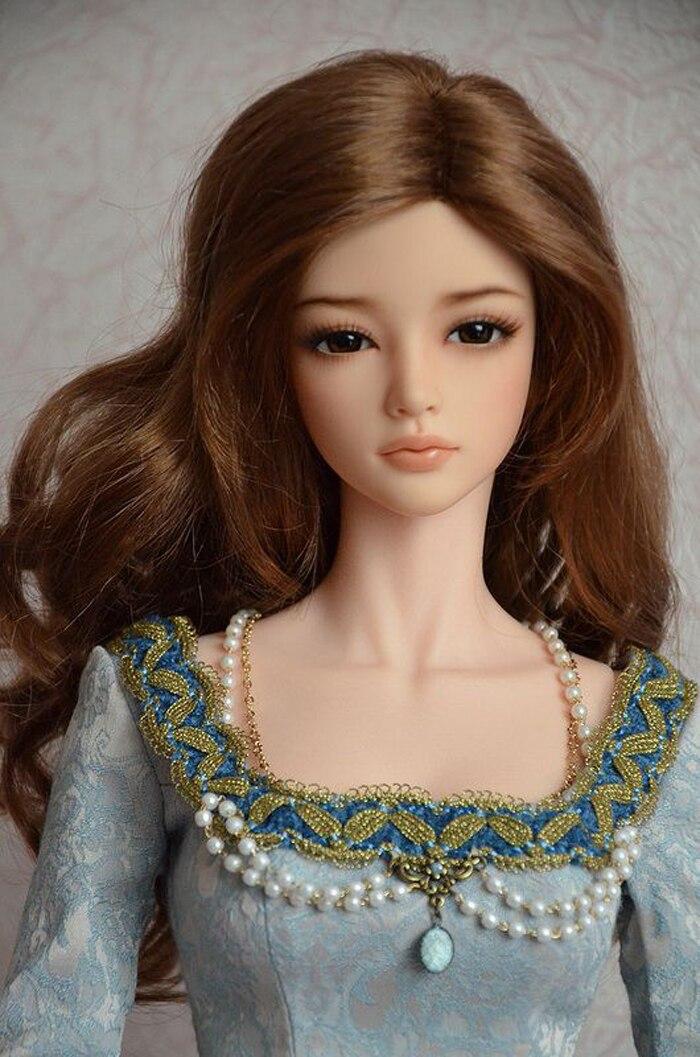 Oyuncaklar ve Hobi Ürünleri'ten Bebekler'de HeHeBJD 1/3 güzel kız Aria ücretsiz gözler reçine modeli yüksek kaliteli oyuncaklar'da  Grup 1