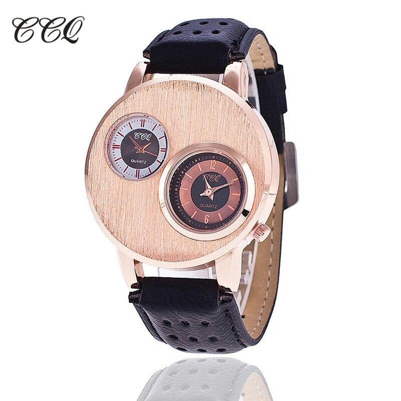 2017 New CCQ Brand Simple Watch Genuine Delicacy Analog Men's Quartz Watch Classic Watches Men Wristwatch relogio masculino