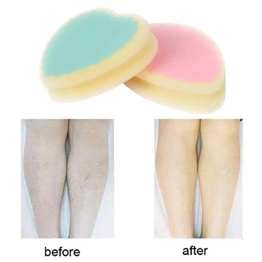 ユニセックス新実用マジック無痛脱毛脱毛スポンジパッド削除ヘアリムーバー効果的な除去ギフトドロップシッピング