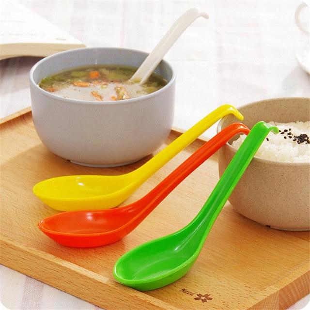 1 Stück Geschirr Dessert Biegehaken Kunststoff Löffel Soba Suppe ...