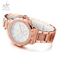 Stainless Steel Wristwatch Famous Fashion Ladies Clock Top Brand Luxury Watches Women Quartz Watch Montre Femme