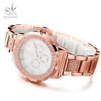 Stainless Steel Wristwatch Famous Fashion Ladies Clock Top Brand Luxury Watches Women Quartz Watch Montre Femme