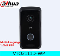 Dahua VTO2111D W DC12V POE WIFI IP Metal Villa Outdoor Station Intercom Video Door Phone DAHUA
