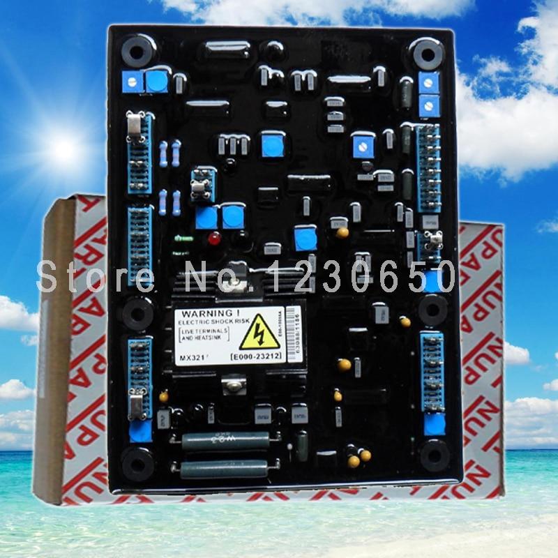 nupart carton mx341 avr for generator regulator Nupart carton AVR MX321 for 500kw 800 kva generator