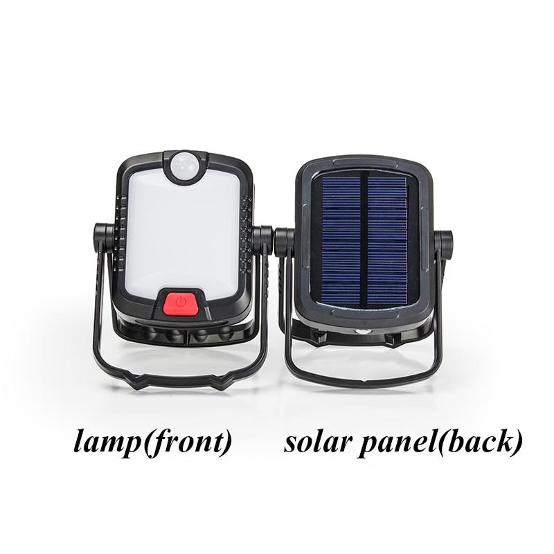Rechargeable 33LEDs Solar Power Lamp Motion Sensor light ...