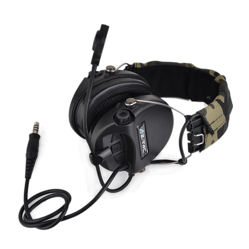 Tactical Sordin Headset Noise Reduction Earphone Airsoft Military Wargame Hunting Shooting Headphone Official Version Z111Tactical Sordin Headset Noise Reduction Earphone Airsoft Military Wargame Hunting Shooting Headphone Official Version Z111
