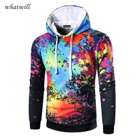 New Fashion 2017 3d Printed Hoodies Fitness Mens Hoodies Sweatshirts Hip Hop Chandal Sudaderas Hombre Casual