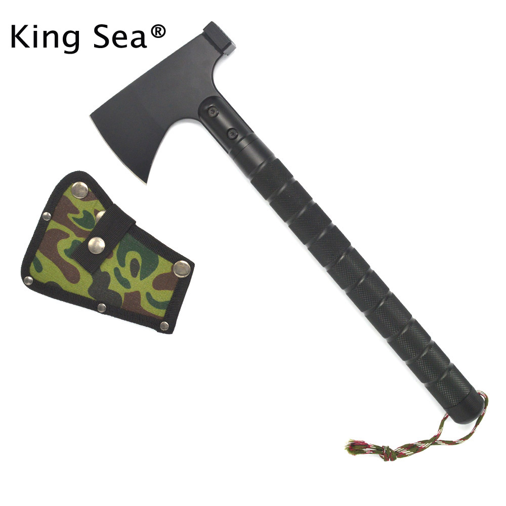 Outdoor multifunction camping tools axe aluminum folding Tomahawk axe fire fighting resc ...