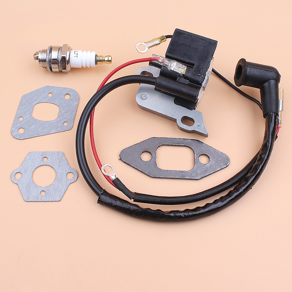Ignition Coil Magneto Carburetor Intake Gasket Kit for <font><b>McCULLOCH</b></font> <font><b>335</b></font> 435 436 440 441 <font><b>Chainsaw</b></font> Chain Saws Replacement image